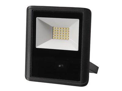 LED-SCHIJNWERPER-VOOR-BUITENSHUIS---20-W,-NEUTRAALWIT---ZWART---MICROGOLFSENSOR-(LEDA7002NW-BM)