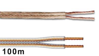LUIDSPREKERKABEL-2-x-2.50mm²-TRANSPARANT-(PLW225)