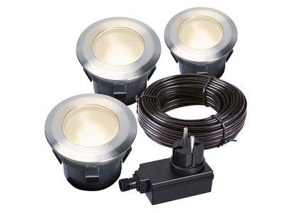 GARDEN-LIGHTS---LARCH-SET---INBOUWSPOT---12-V---30-lm---1-W---3000-K-(GL4058603)