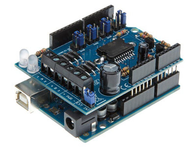 Motor-&--power-shield-voor-Arduino®-(WPK03)