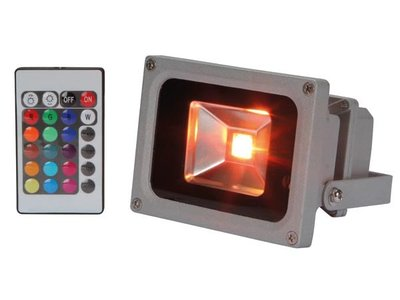 LED-SCHIJNWERPER-VOOR-BUITENSHUIS---10W-RGB-LED-CHIP---IR-AFSTANDSBEDIENING-(LEDA3001RGB)