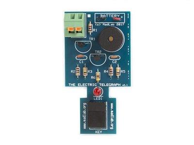 MADLAB-ELECTRONIC-KIT---ELECTRIC-TELEGRAPH-(MLP109)