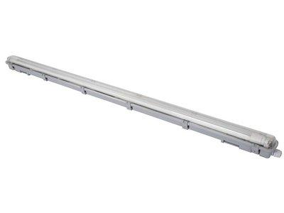 PLAFONDLAMP-MET-T8-LEDLAMP---WATERDICHT---BUIS---126.5-cm---NEUTRAALWIT-(LEDA98NW)