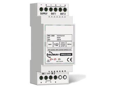 2-kanaals-0-10-V-gestuurde-PWM-dimmer-voor-ledstrips-(VMB2LEDDC)