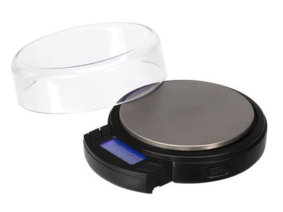 DIGITALE-MINI-PRECISIEWEEGSCHAAL---ROND---500-g-/-0.1-g---MET-UITSCHUIFBAAR-LCD-DISPLAY-(VTBAL403)
