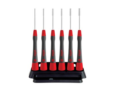 Wiha-Fine-screwdriver-set-PicoFinish®-Hex-nut-driver,-6-pcs.-with-holder--(42994)-(WH42994)