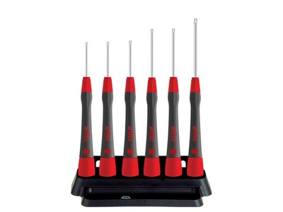 Wiha-Fine-screwdriver-set-PicoFinish®-TORX®-MagicSpring®,-6-pcs.-with-holder--(42998)-(WH42998)