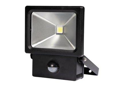 LED-SCHIJNWERPER-VOOR-BUITENSHUIS-MET-PIR-SENSOR---10-W---NEUTRAALWIT-(LEDA2001NW-BP)